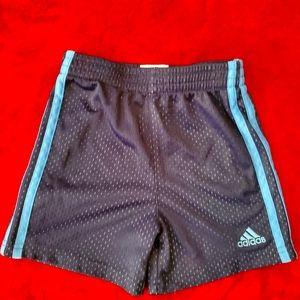 🛑EUC Adidas Dark Blue Athletic Shorts Size 2T